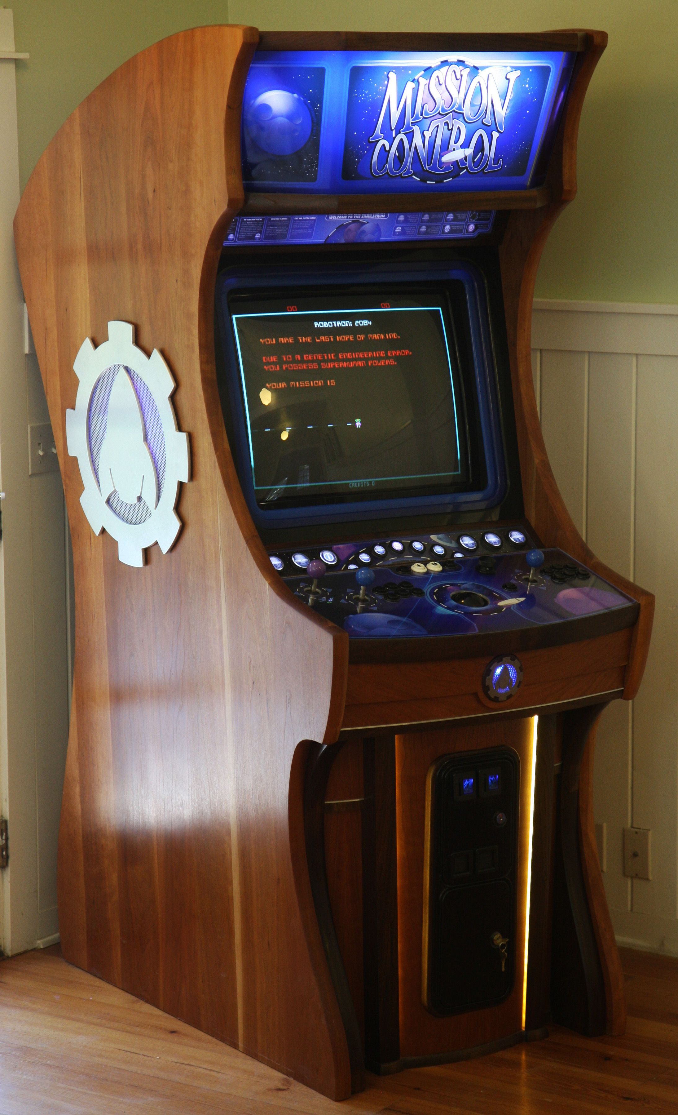 Mission Control Arcade Cabinet Arcade Games Amp Retro