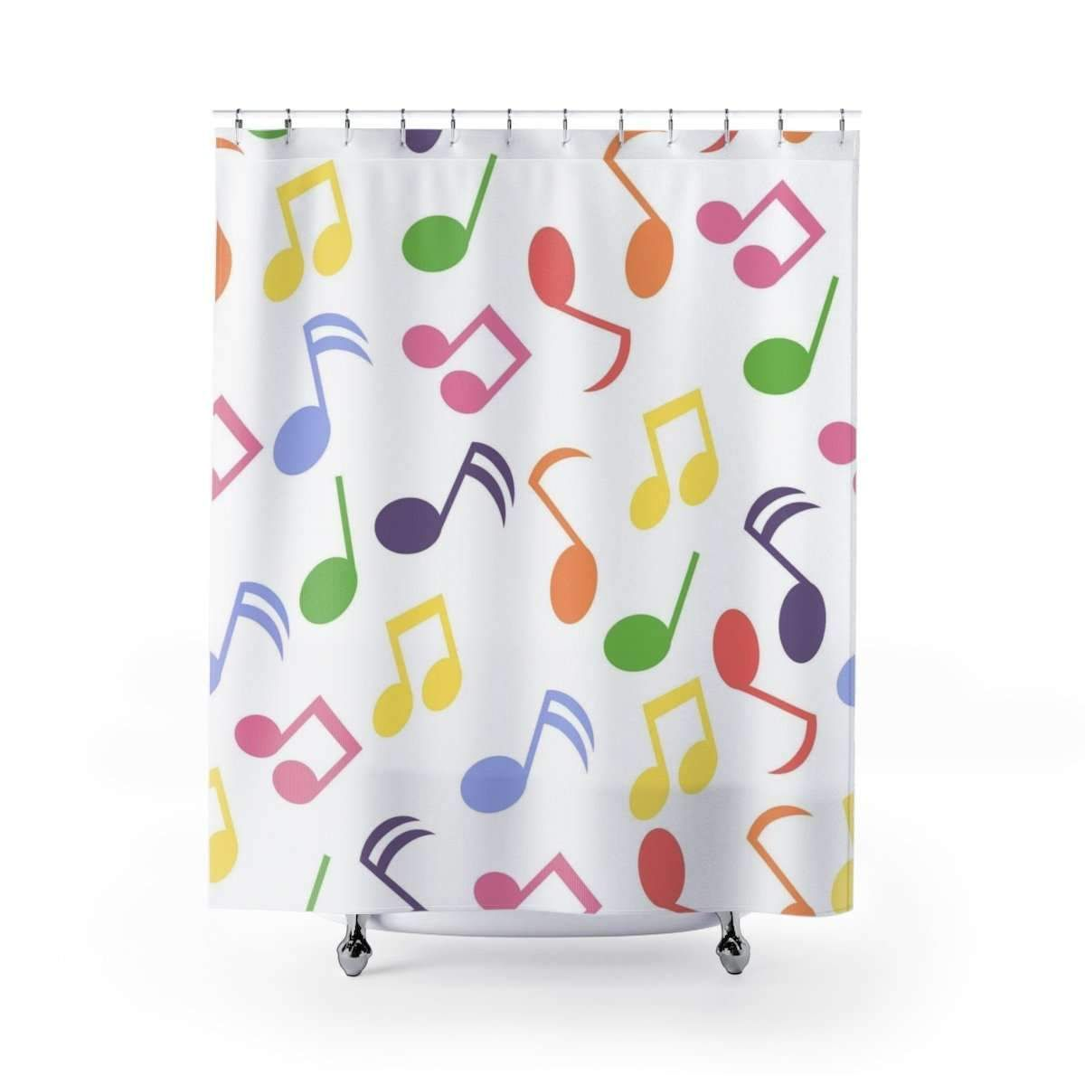 Music Note Shower Curtain Shower Curtains Music Notes