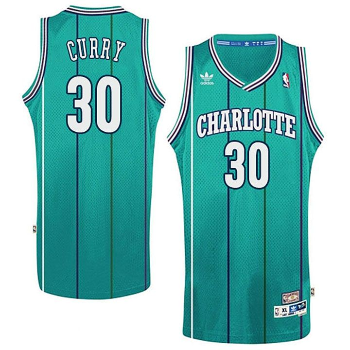 Charlotte Hornets  30 Dell Curry Teal Soul Hardwood Classics Jersey-Stephen  Curry s Dad d3bb965b8