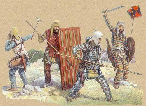 Persian Immortals. | Darius III / Persian Weapons ...
