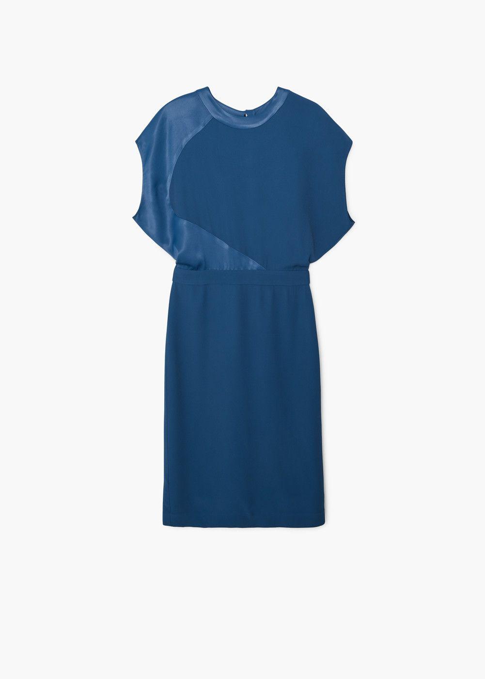 vestido abertura espalda - mujer | mango españa | womens