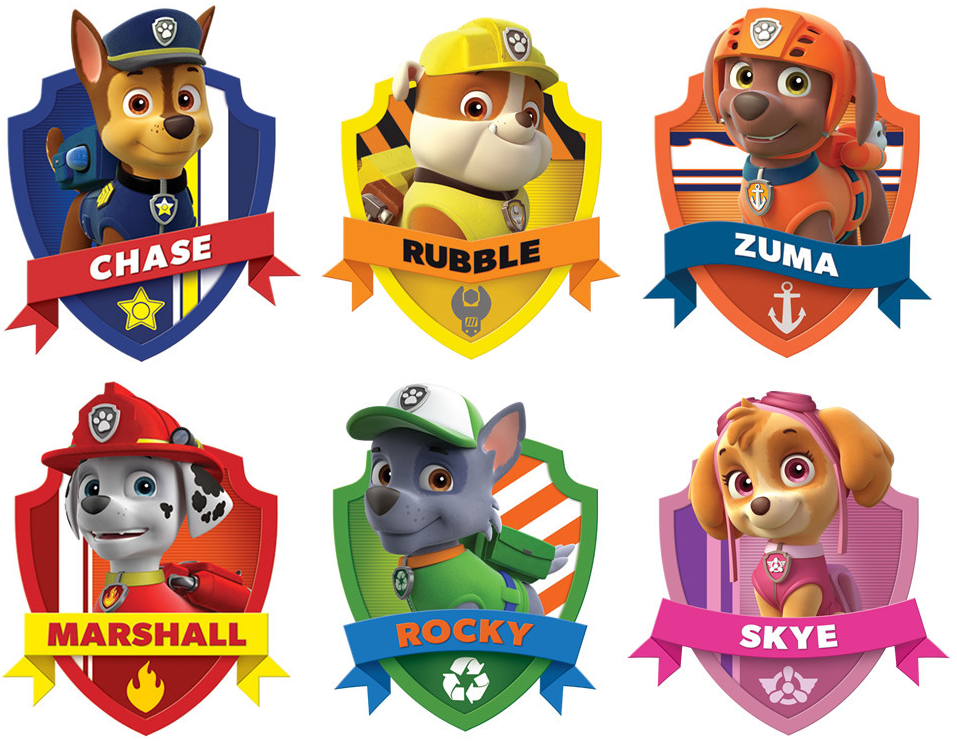 Oh My Fiesta In English Paw Patrol Free Printable Kit Paw Patrol Birthday Party Paw Patrol Birthday Paw Patrol Characters