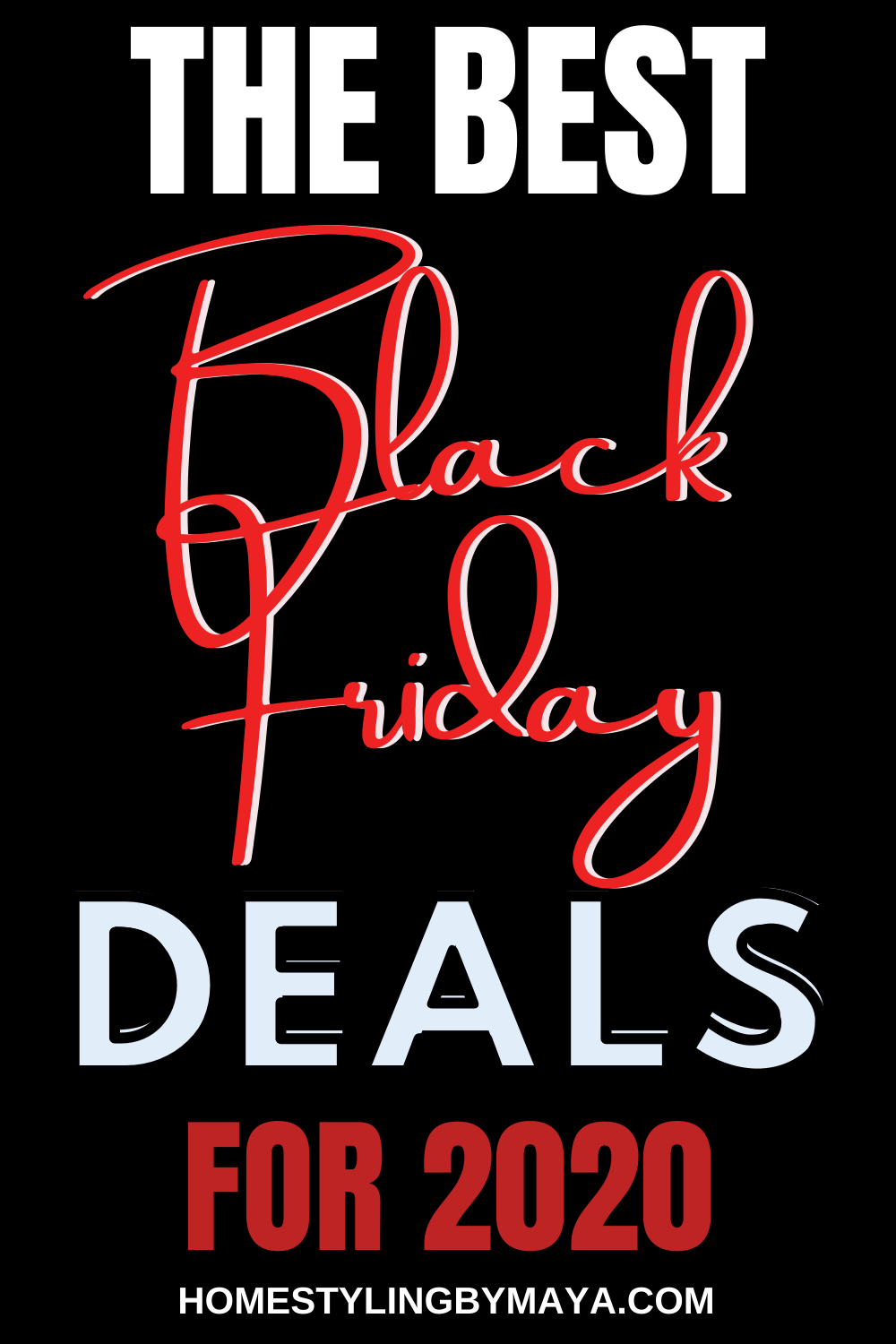 The Best 2020 Black Friday Deals: This blog post includes all of the best Black Friday deals and Black Friday shopping tips! Click through for the best Black Friday tips & deals! #blackfridaydeals #blackfridaytips #blackfridayshoppingtips #blackfriday2020