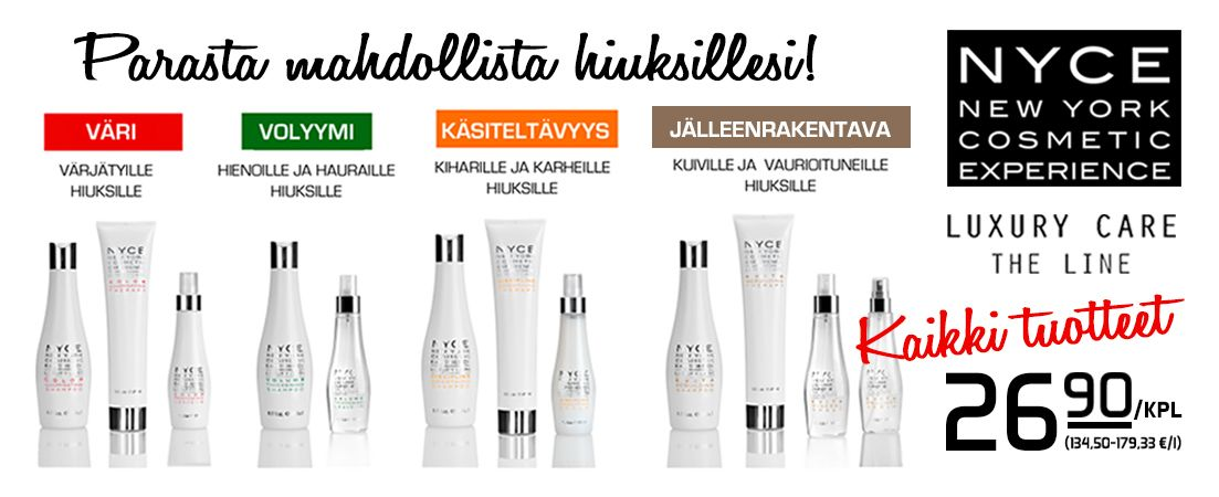 Uutta Suomessa! New York Cosmetic Experience, laatua, ekologisuutta ja toimivuutta! #mega #megamyynti