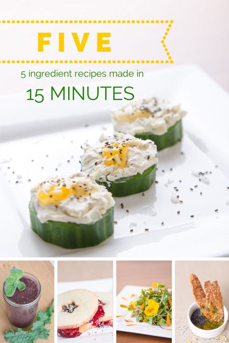 Five easy 5 ingredient recipes made in under 15 minutes larder five easy 5 ingredient recipes made in under 15 minutes forumfinder Image collections
