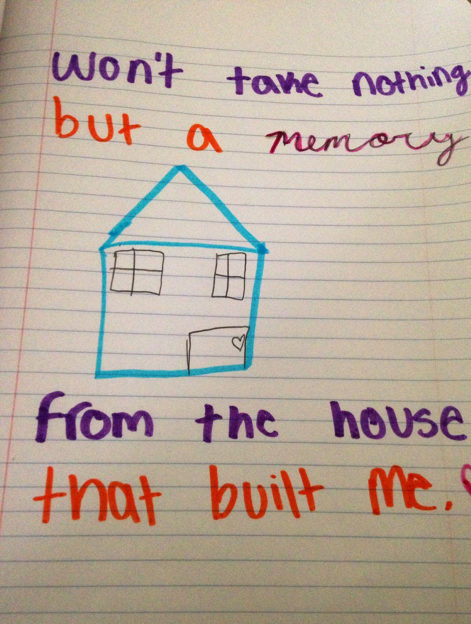 The House That Built Me Miranda Lambert lyrics
