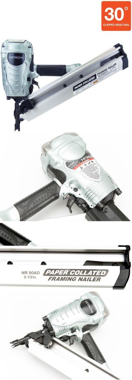 Framing Guns 50378: Hitachi Clipped Head Framing Pneumatic Air Nail ...