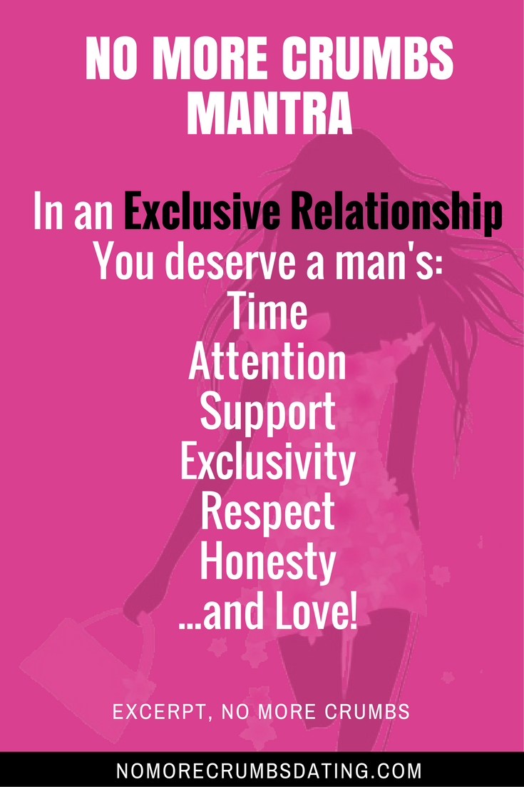 exclusive dating or relationship