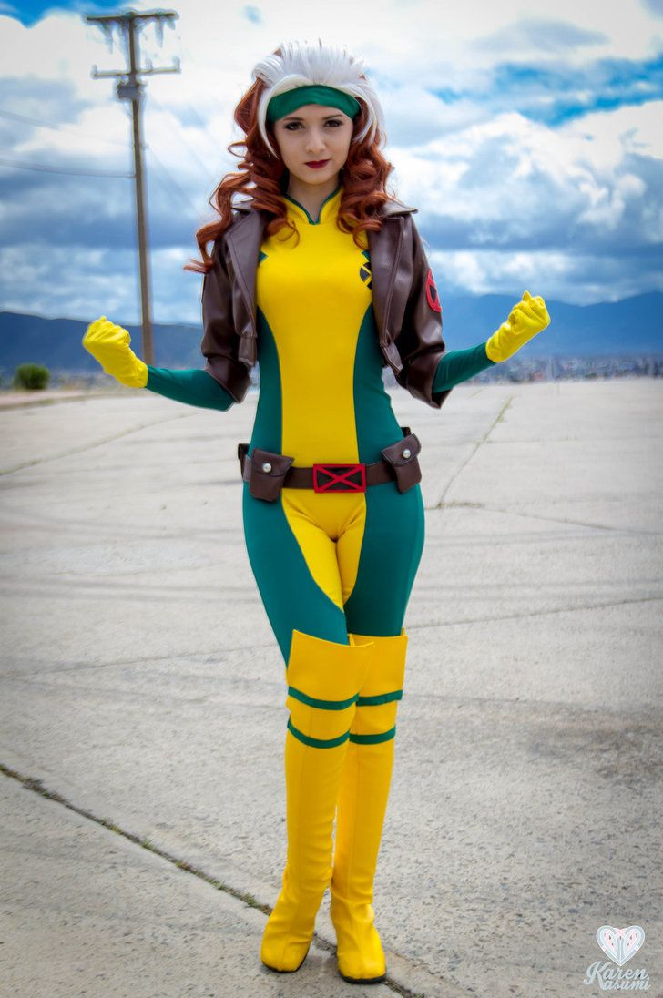 Rogue From X Men By Karen Kasumi Deviantart Com On Deviantart