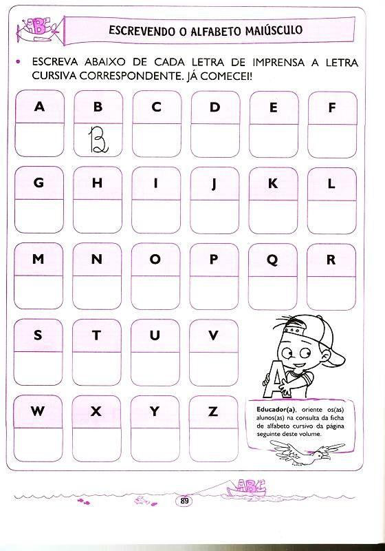 Atividades Para Crianças De 5 E 6 Anos Lingua Portuguesa