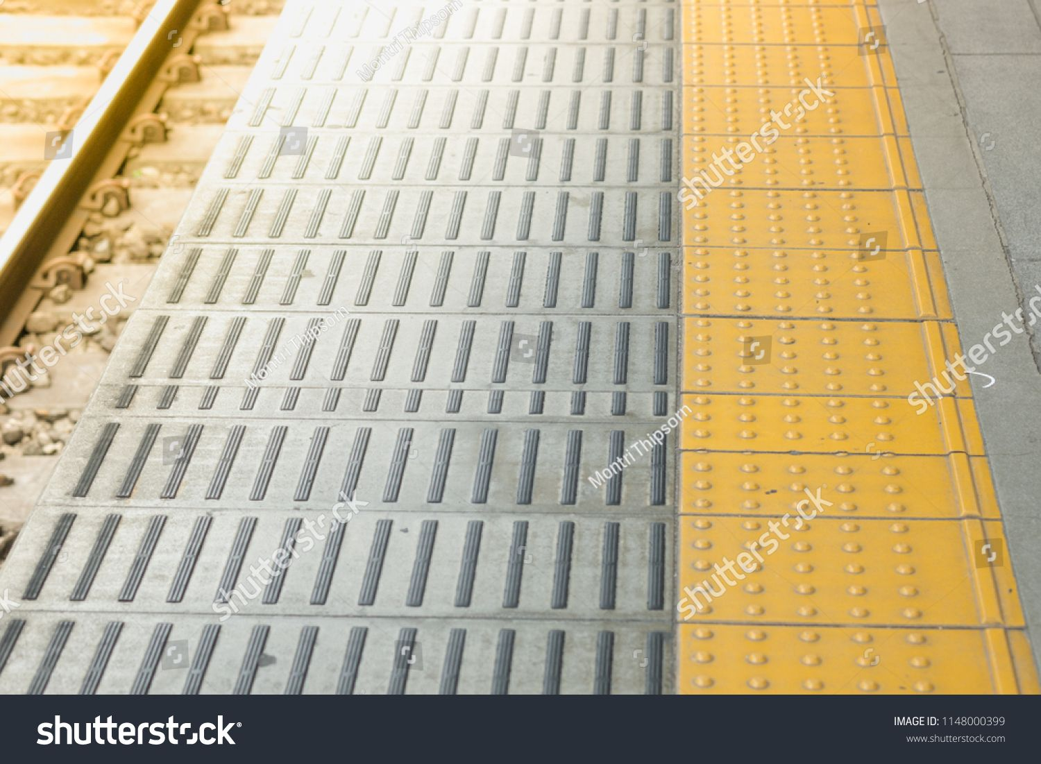 Tactile Paving For Blind Handicap On Tiles Pathway Walkway For Blindness People With Train Railway Ad Spon Tactile Paving Business Card Modern Pathways