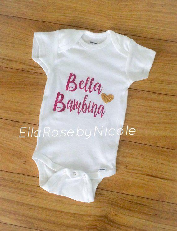 55b0033cbc0b Bambina   Bella Bambina   Italian Baby Girl   Baby Girl Outfit ...
