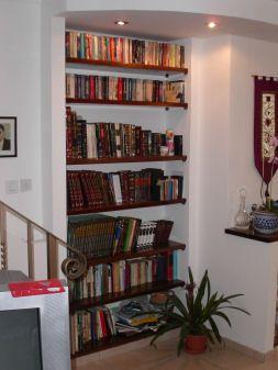 bookshelf built into wall google search home pinterest rh pinterest com Wall Shelf Plans For Wall Shelves Building Plans