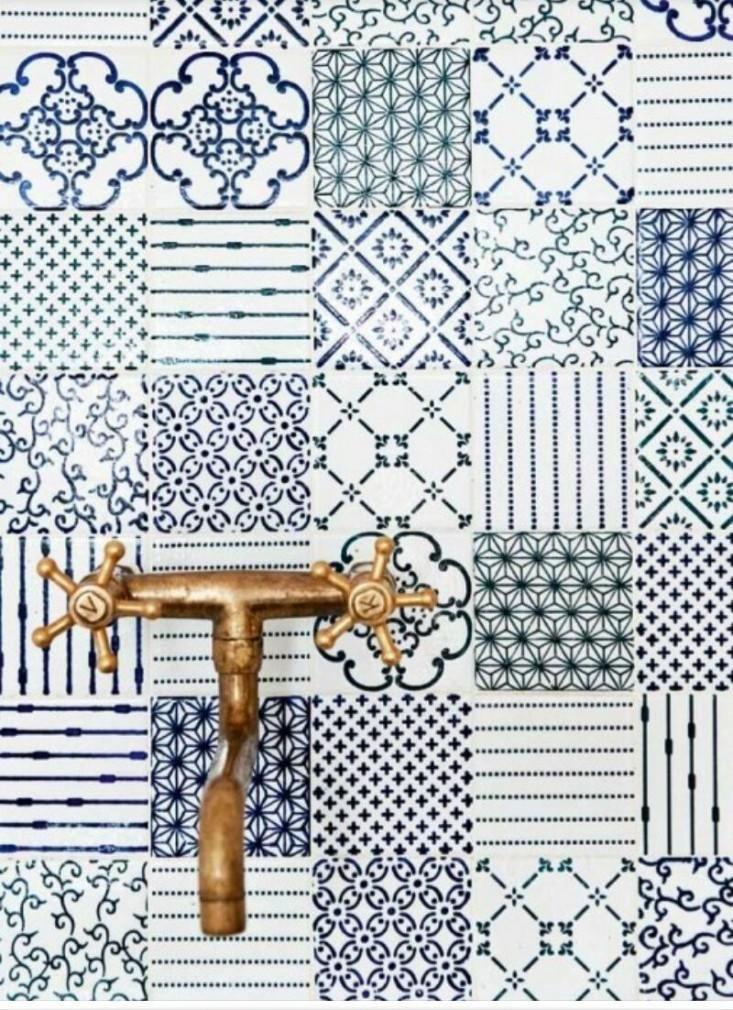 badezimmer bunte fliesen  Atemberaubende Design für badezimmer - bodenfliesen für badezimmer