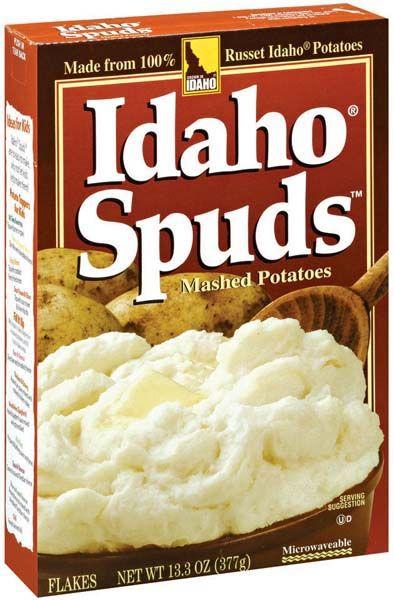 Idaho Spuds Idaho Spuds Instant Potatoes My Best Recipe