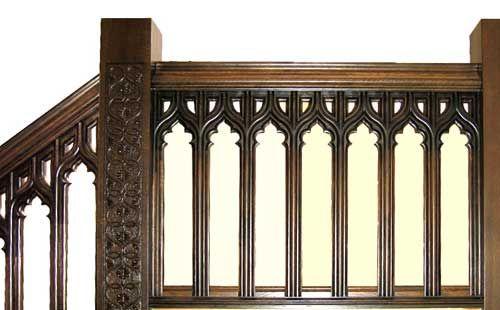gothic railing | Railing
