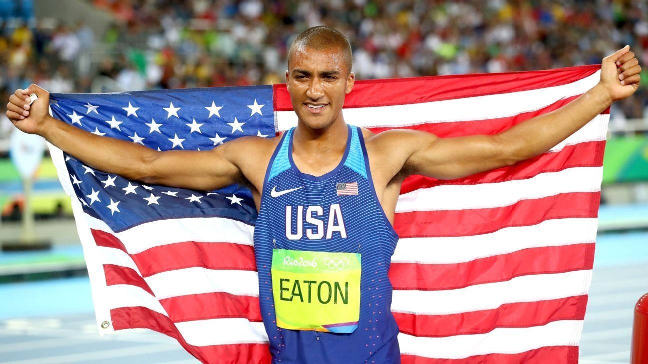 American Eaton wins 2nd straight decathlon gold