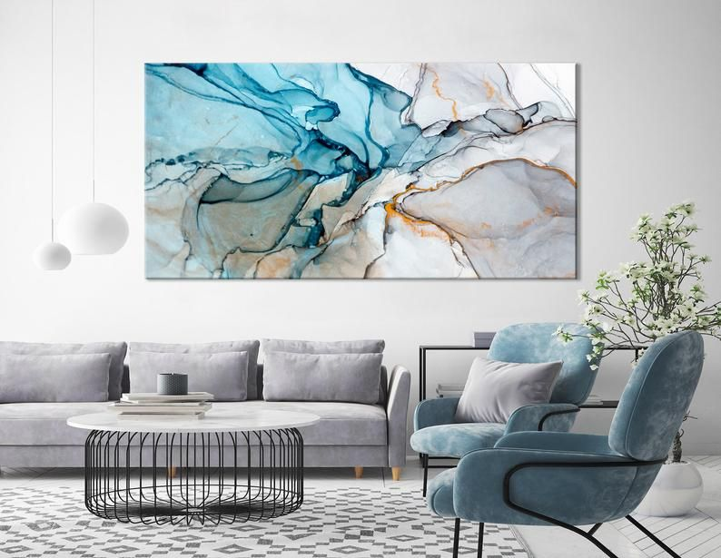 Large Marble Art Marble Canvas Print Beautiful Abstract Art Etsy Large Canvas Art Marble Art Diy Canvas Art