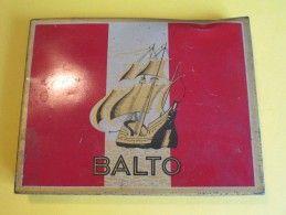 Cigarettes / Boite Métallique/Balto/Goût Américain/Régie Française/Vers 1950 - 1970          BFPP61