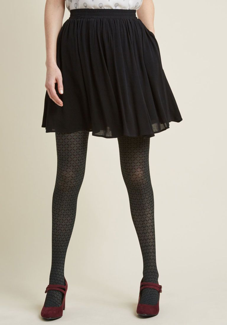 943b991ec8a Swingy Mini Skirt with Pockets in Black in XXS by ModCloth