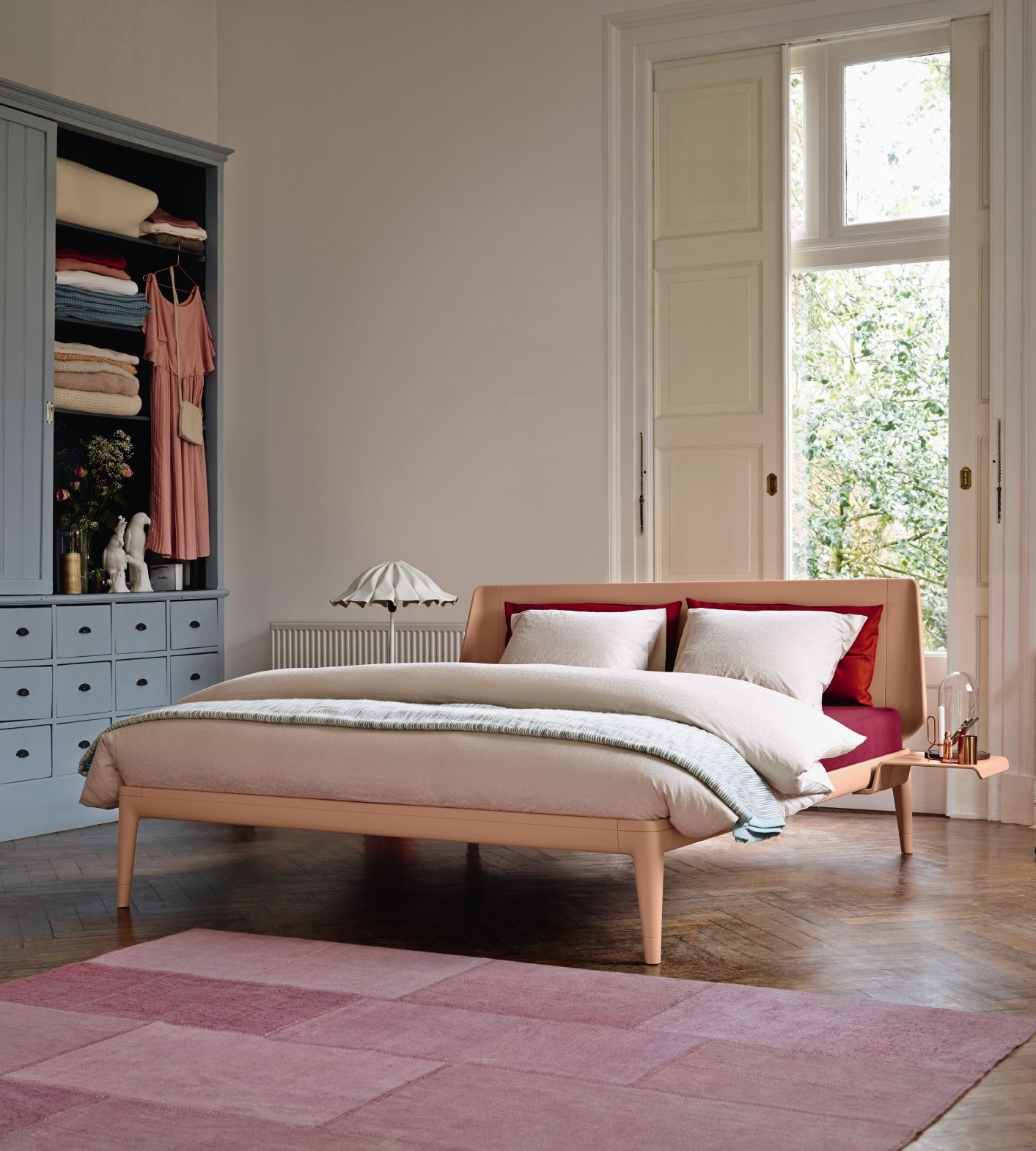 Auping Essential #skin #nude #rose #bedroom #schlafzimmer #bett