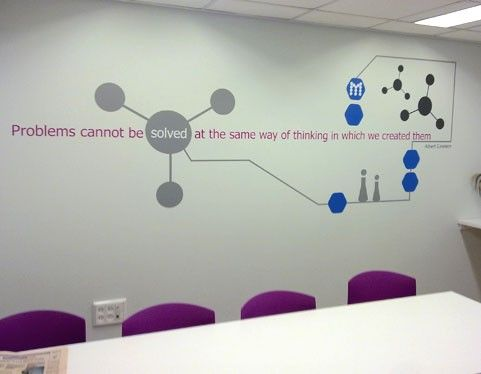 office wall decal | studiu luka - wall decal for office ...