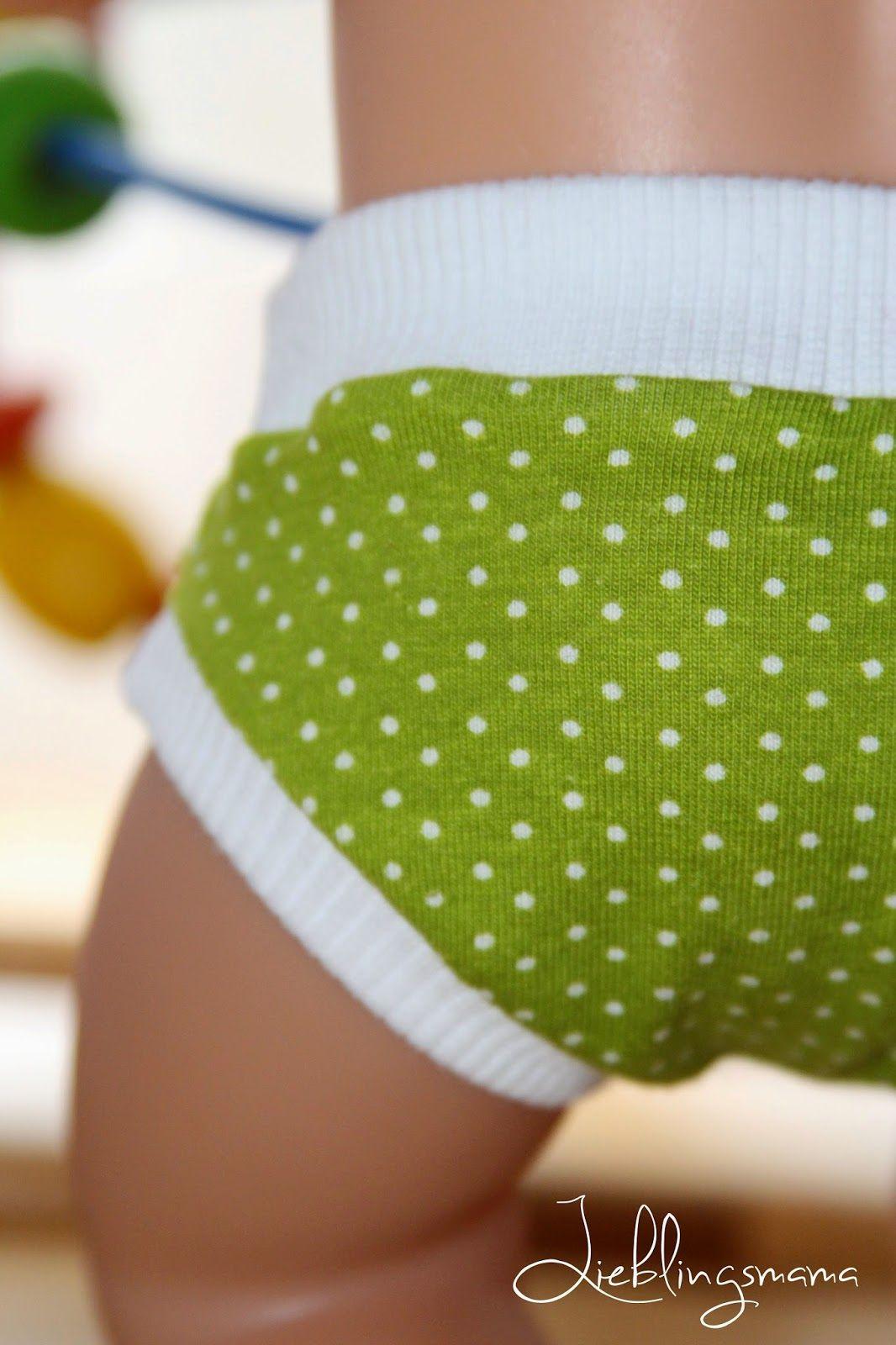 Kostenloses Schnittmuster für eine Puppenunterhose. | Hampers ...