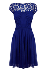 Blue Lisanne dress
