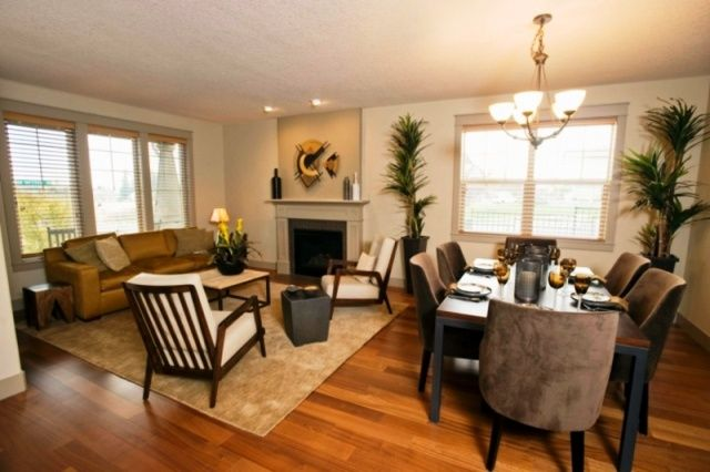 Small Living Dining Room Layout
