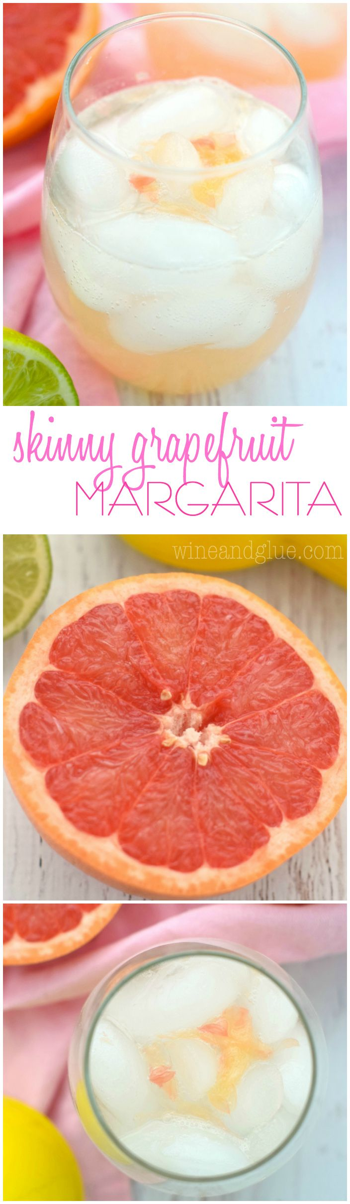 This Skinny Grapefruit Margarita is the perfect amount of