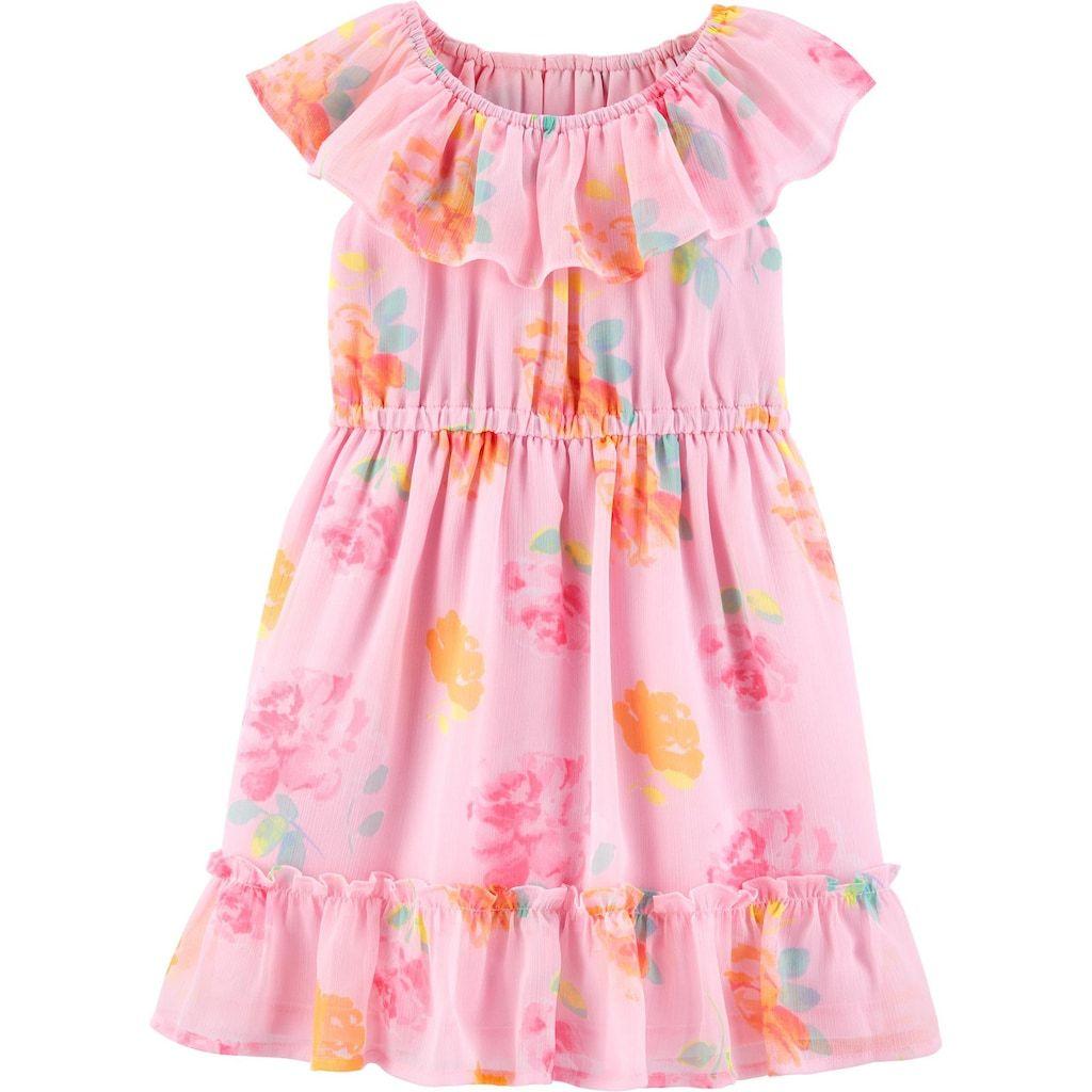 Baby Girl Oshkosh B Gosh Floral Ruffle Dress Floral Ruffle Dress Ruffle Dress Dresses [ 1024 x 1024 Pixel ]