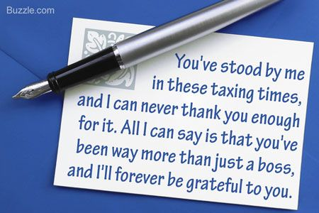 Smart Tips on Writing a Thank You Note to Your Boss Note, Bday