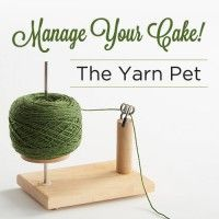 Manage Your Cake! The Yarn Pet #diyyarnholder