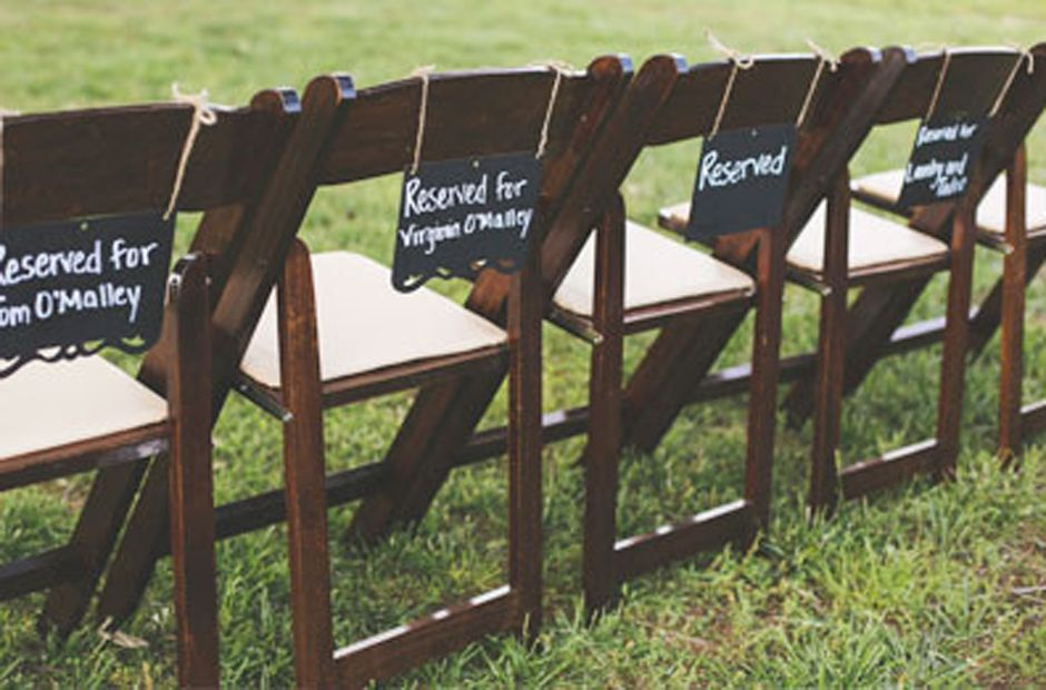 Fruitwood folding chairs wedding chairs lake oconee