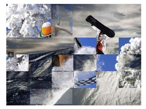 Tiny jQuery Image Slideshow with Slice Transition Effect