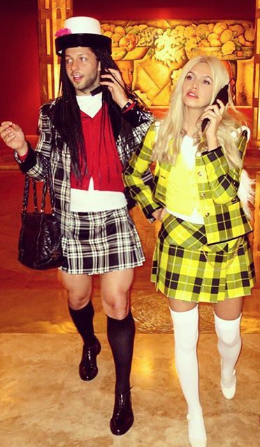 Derek Blasberg and Dasha Zhukova - Clueless | Fashion Halloween Outfit Ideas  sc 1 st  Pinterest & Halloween Costume Ideas From Models Designers and Street Style ...