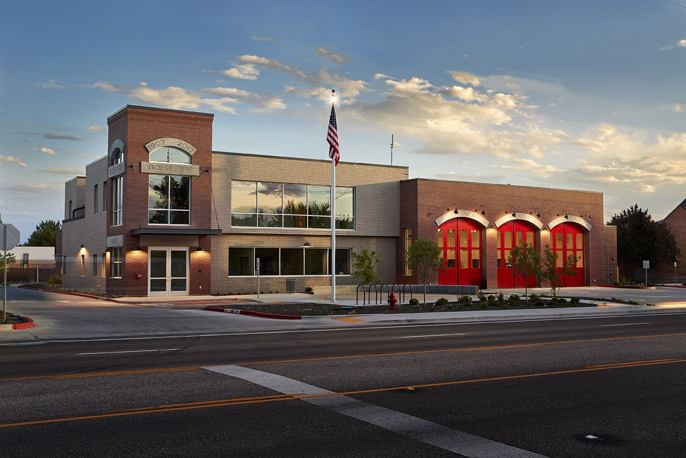 Pin on Fire Station