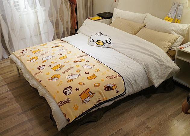 Sanrio Gudetama Bedding Cover 3pc Set Single Size Kawaii Cute from Japan