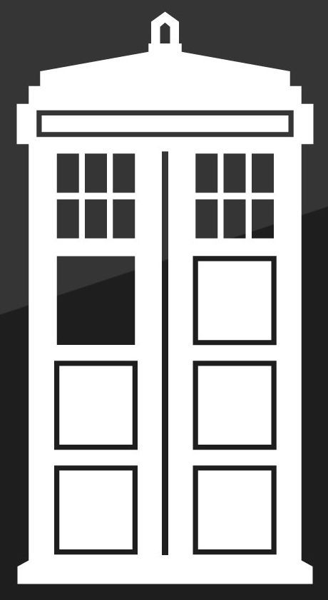Doctor Who Tardis Car Window Vinyl Decal Sticker 5 Tall Keen150