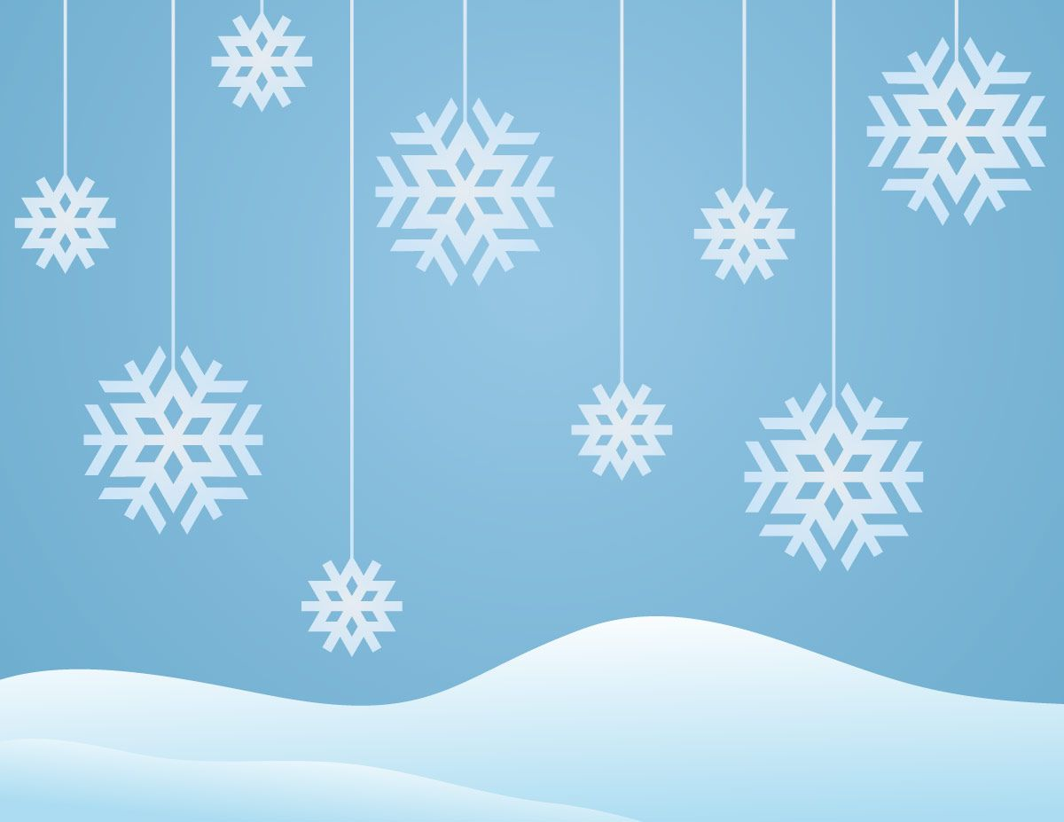 Snowflake Clip Art with No Background | Snowflakes Winter ...