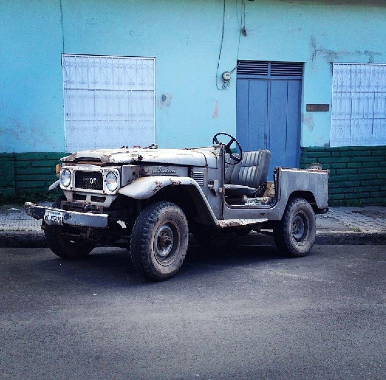 Matagalpa Nicaragua Land Cruiser Surviving A Rough Life
