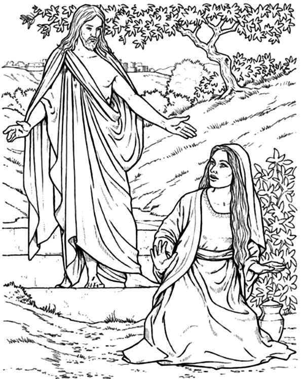 Jesus appears to Mary Magdalene God's Promises by Sarah