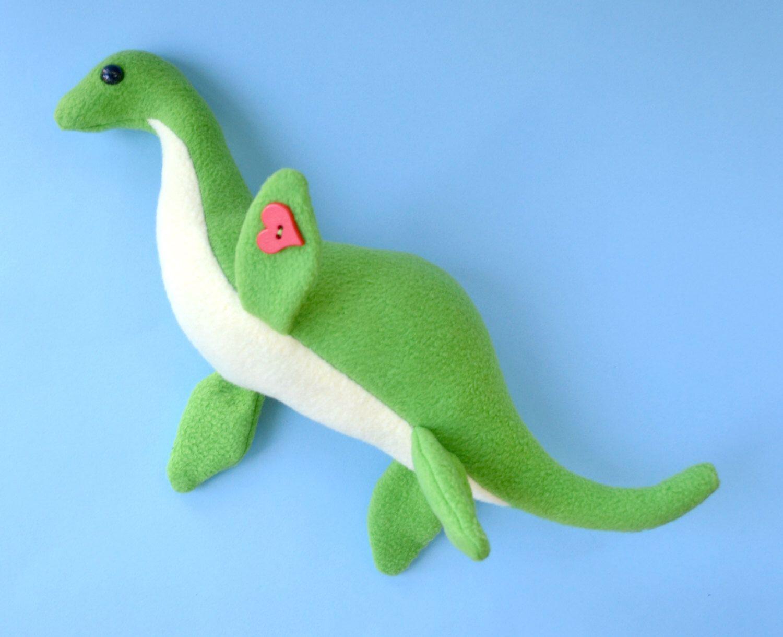 Plesiosaur Lake Monster Plush Loch Ness Monster Nessie by ...