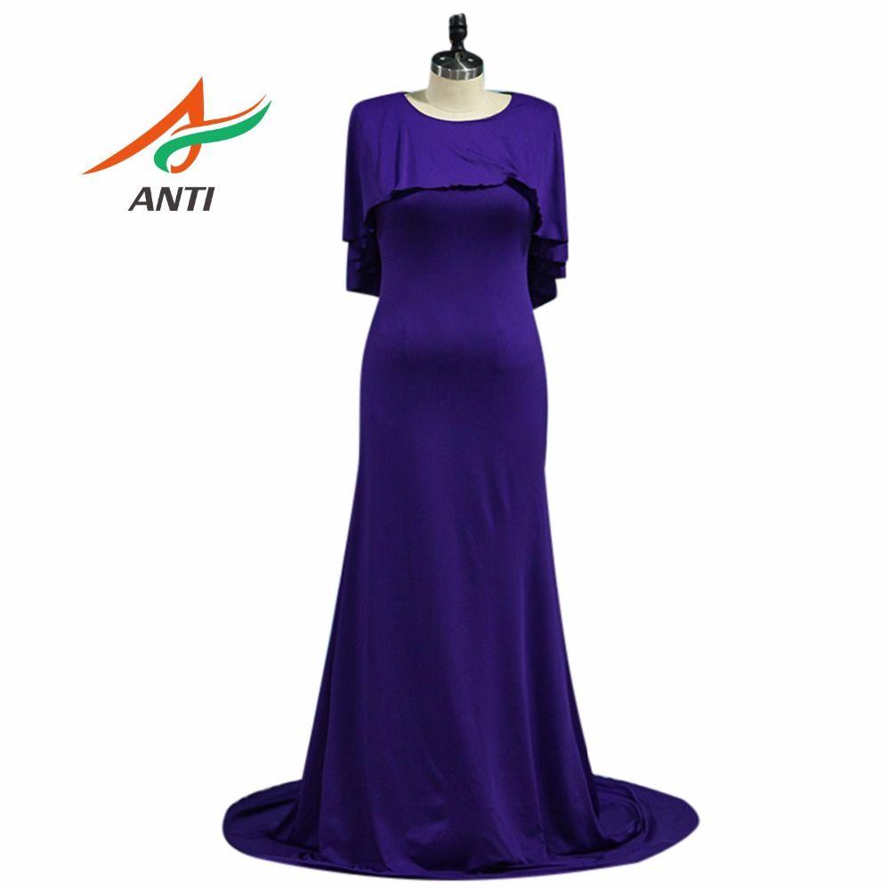 US $75.26 ANTI Púrpura Elegante Madre De Los Vestidos de Novia ...