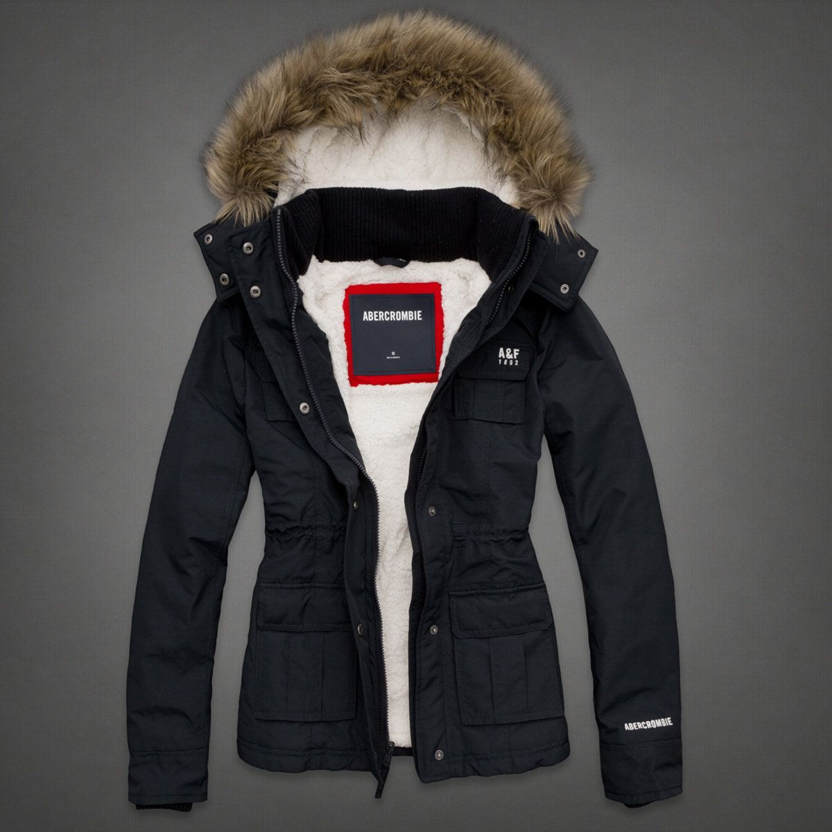 Womens A&f All-season Weather Warrior Parka | Womens New Arrivals ...