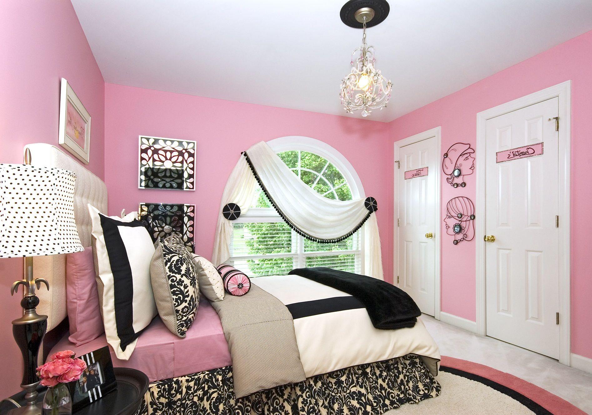 Pink Teenage Bedrooms Pink Teen Bedrooms