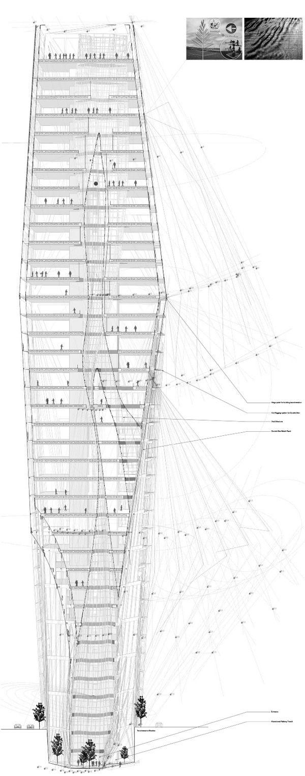 PERHONEN – RATAKUILU TOWER by Cody Campbell, via Behance