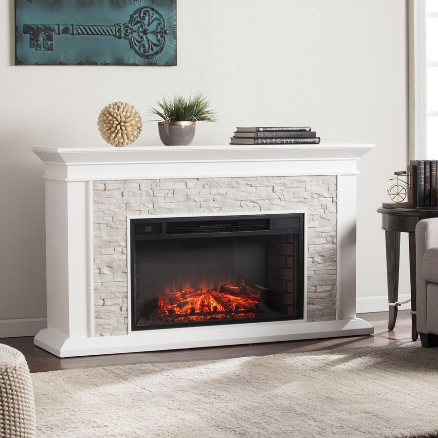 Boston loft furnishings 6025 in w fresh whiterustic white faux boston loft furnishings w fresh whiterustic white faux stone mdf led electric fireplace with thermostat and remote control teraionfo