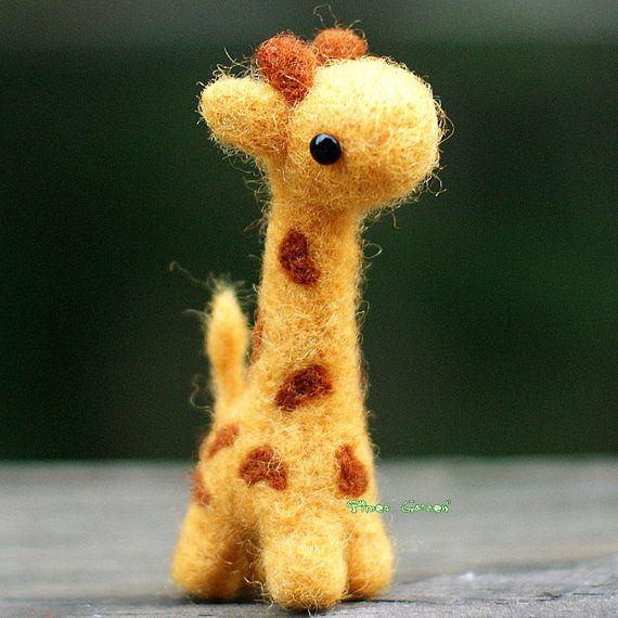 Felt Material Giraffe Cute Edition Cute Giraffe by TimesGarden