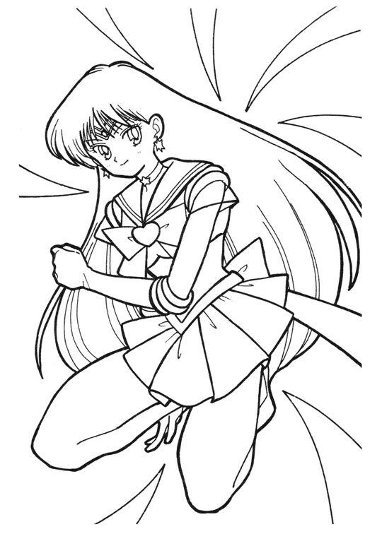 Sailor_Moon_Star_book2__006.jpg | LineArt: Sailor Moon | Pinterest ...